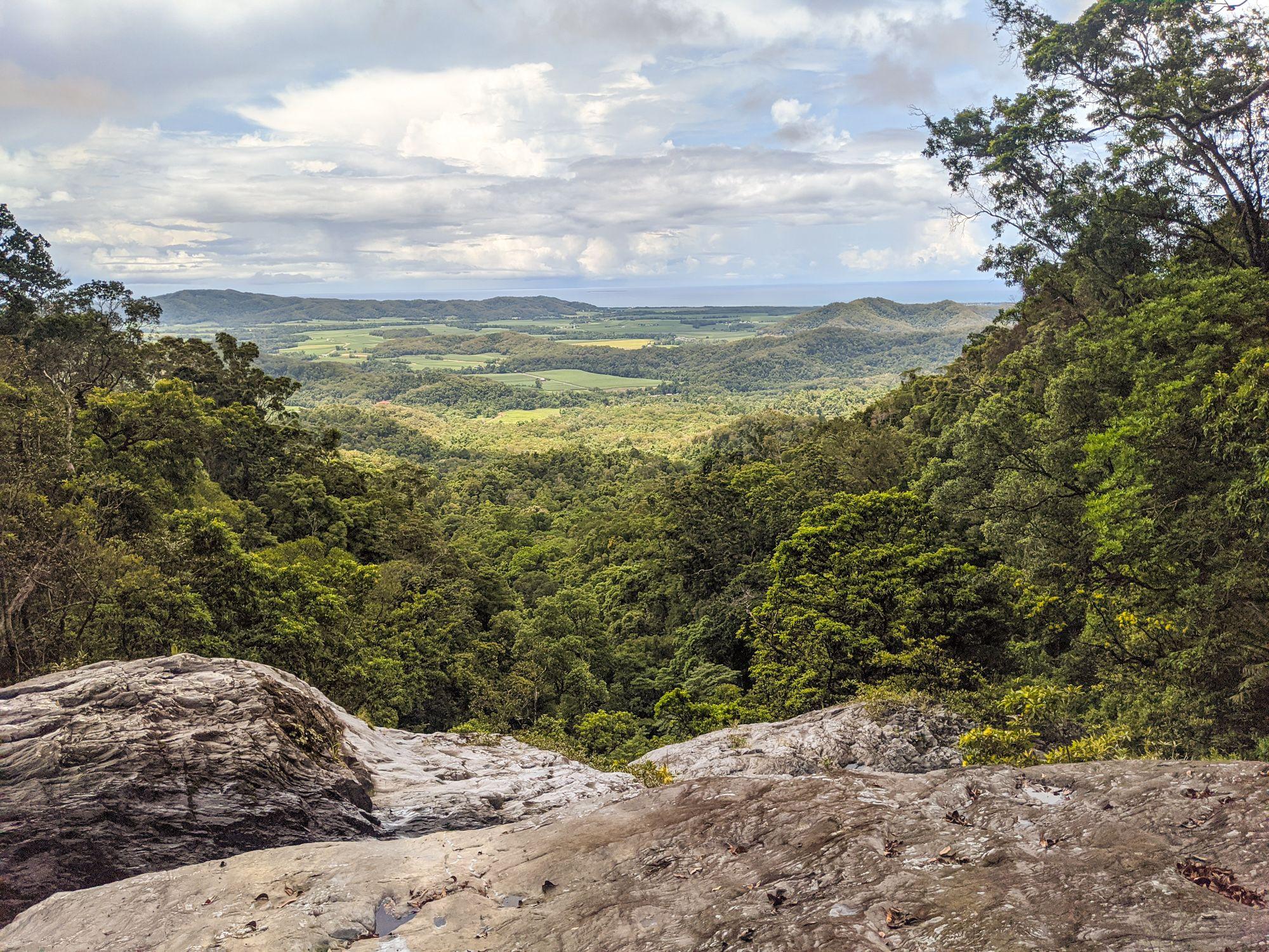 karnak falls top view