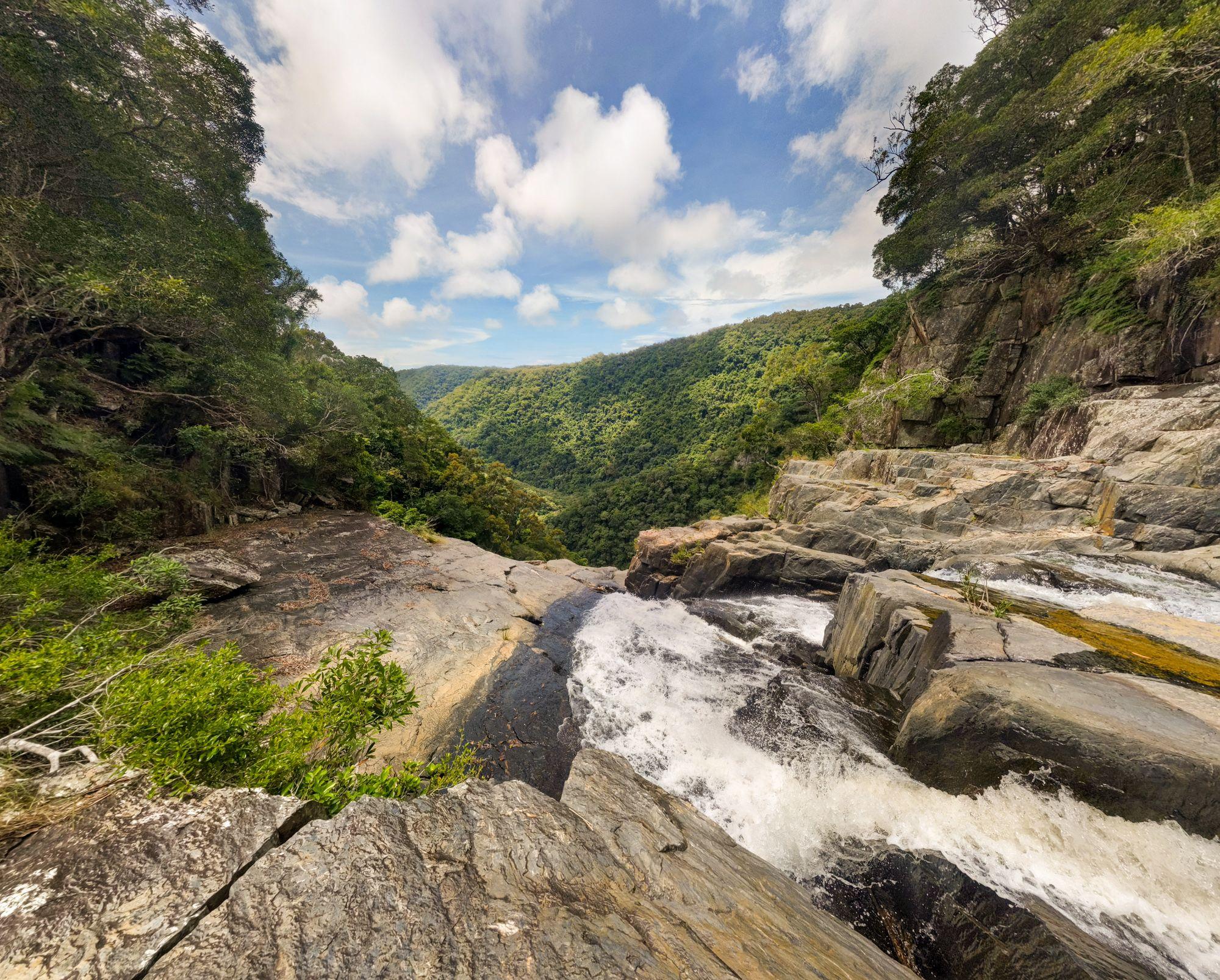 sping creek falls top
