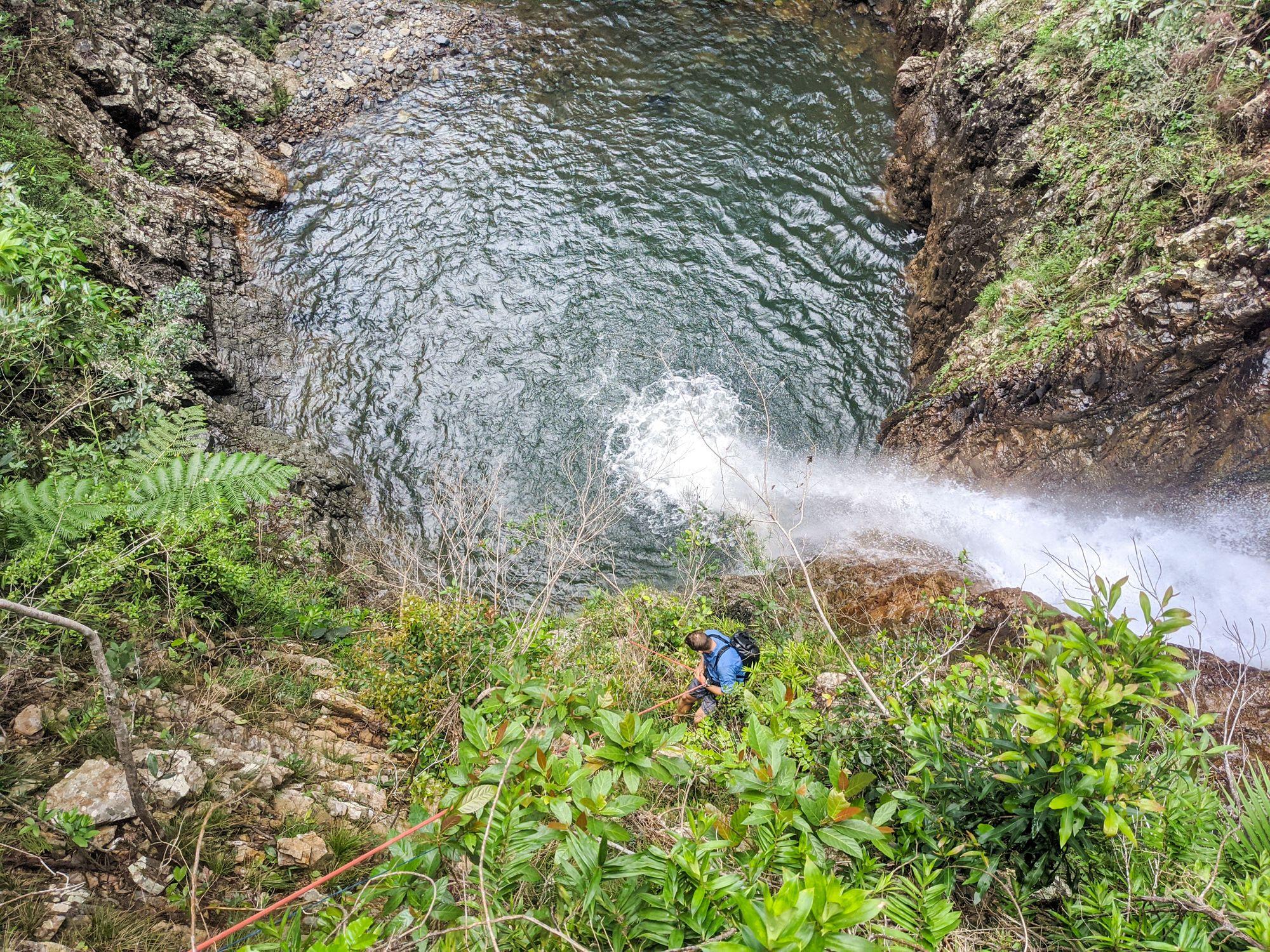 Canyoning Mobile Creek - Ollera Creek Tributary