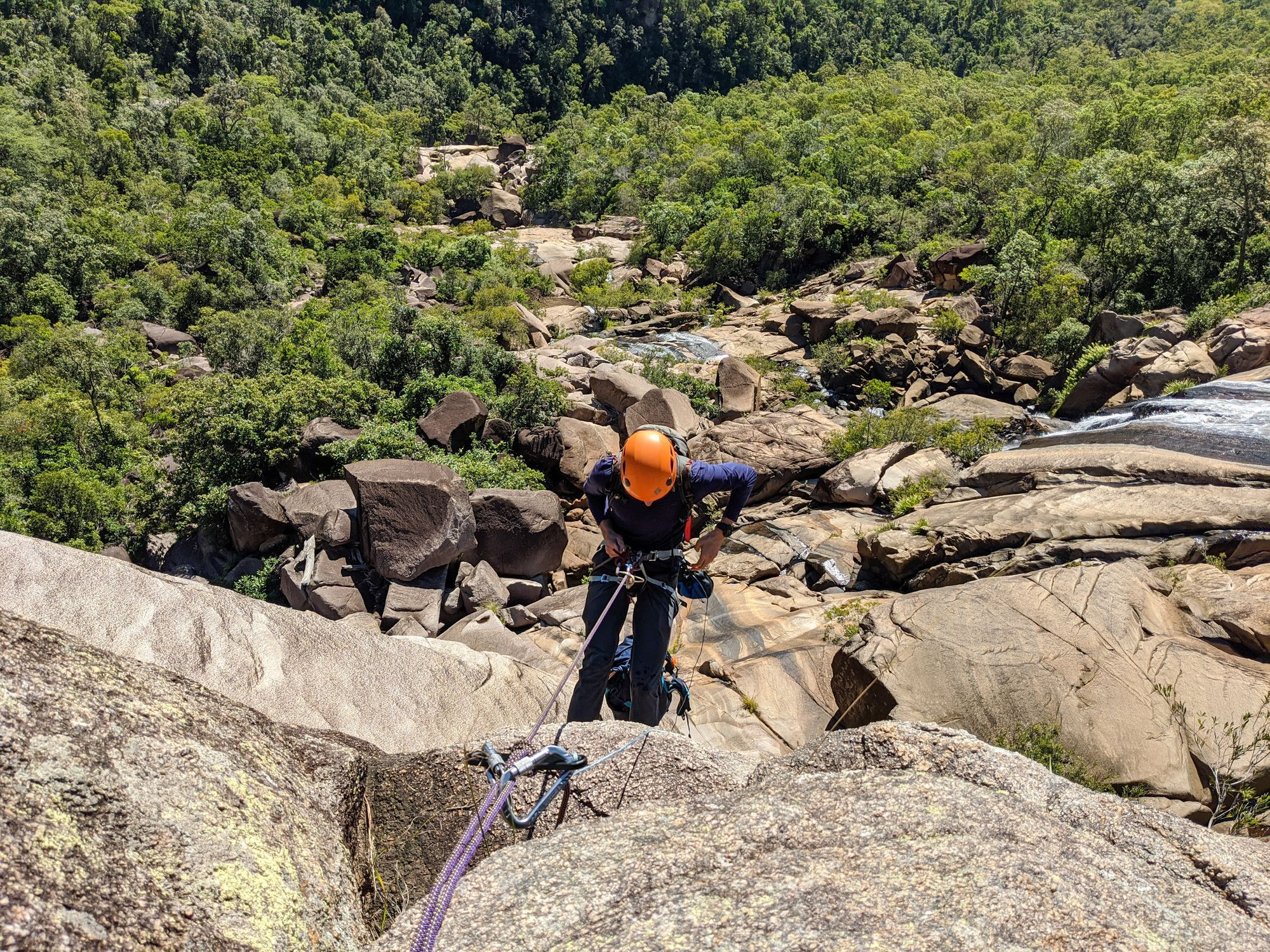 Raspberry Creek Canyoning