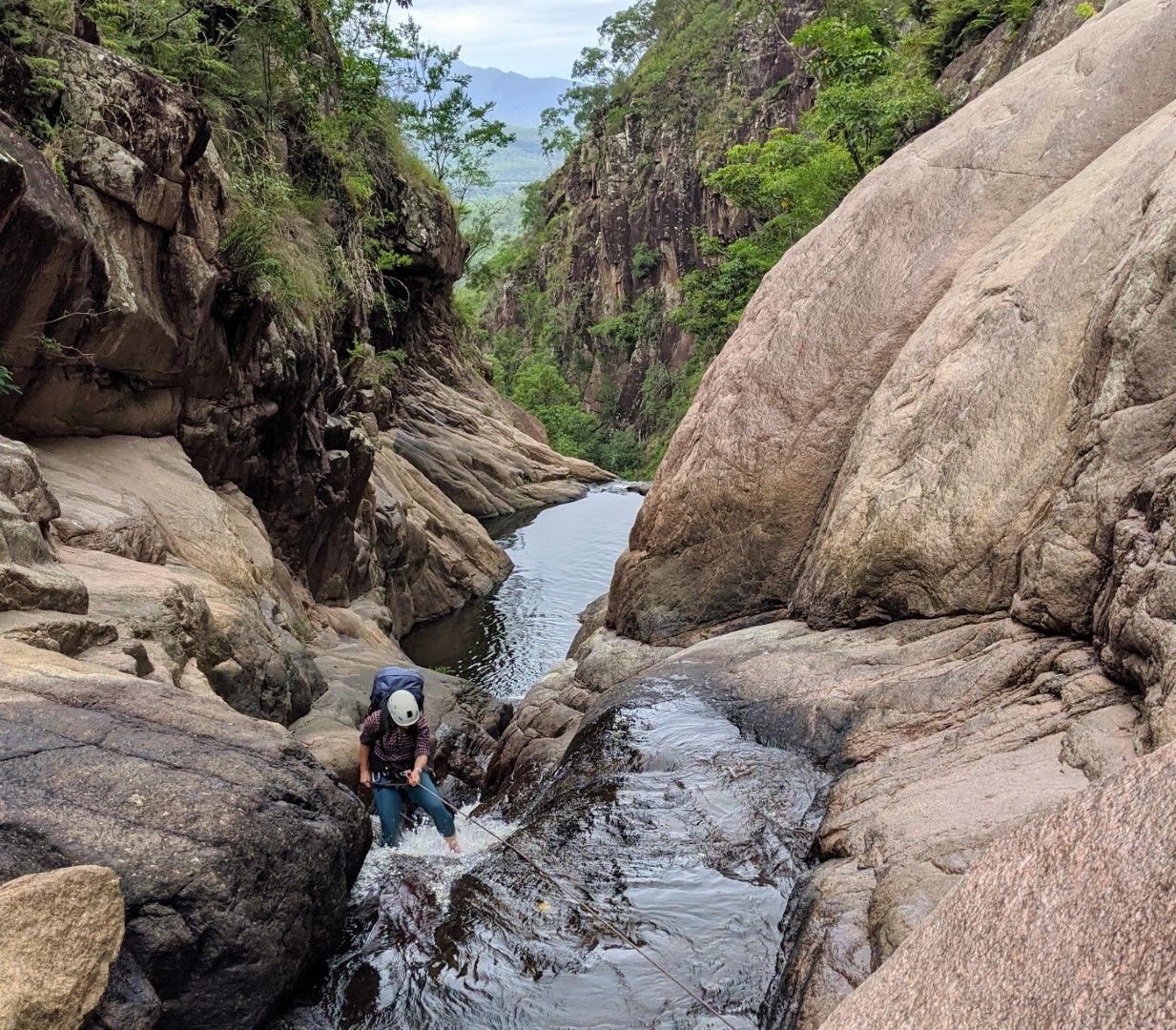 Disaster Canyon, Disaster Creek