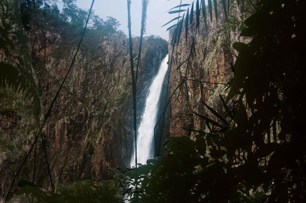 Wallaman Falls in Girringun National Park