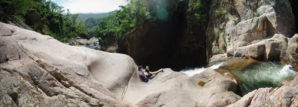 Location: Top of Jourama Falls, Paluma Range National Park
