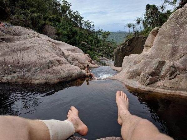 Hidden Valley to Jourama Falls, Waterview Creek