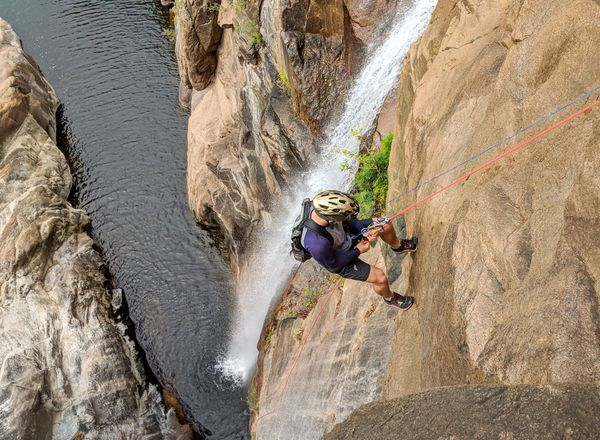 Beginners' tips for canyoning in North Queensland