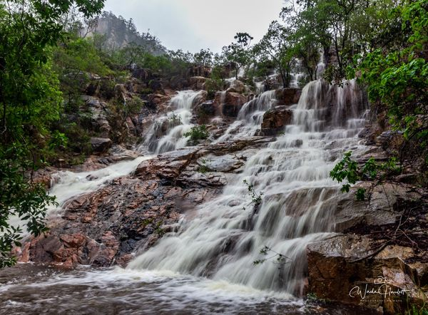 How to get to Bridal Falls, Hervey Range