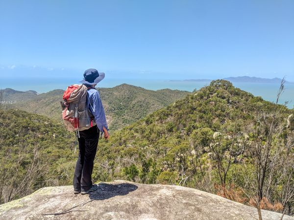 Bushwalking on Magnetic Island
