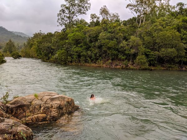 How to get to Paradise Waterhole, Big Crystal Creek